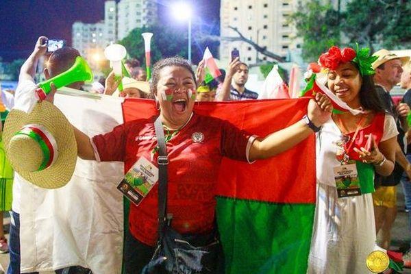 Supporters malgaches en Egypte juillet 2019