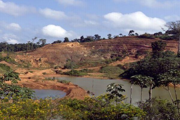 Site minier aurifère de Yaou