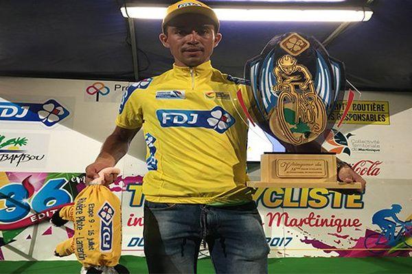 Tour de Martinique : Jhonathan Sanilas