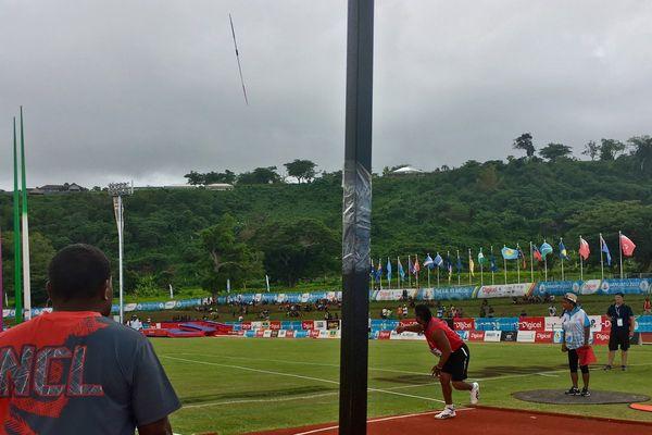 Falemanu AVEUKI décroche le bronze après un lancer de 39,87m en javelot handisport