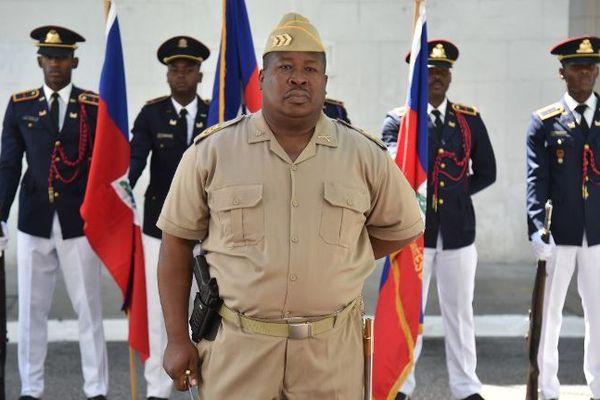 Membres de l'armée haïtienne