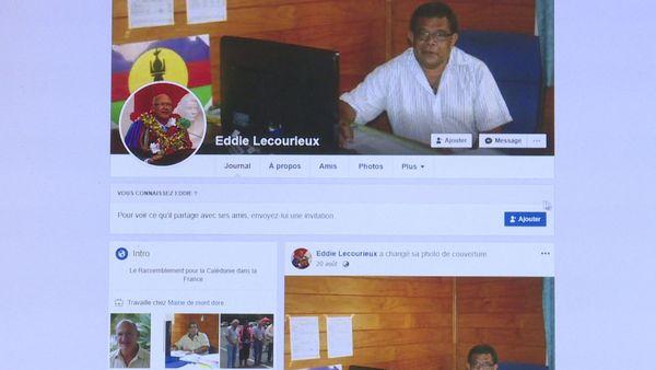 Faux profil FB Eddie Lecourieux