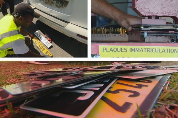 Plaques immatriculation