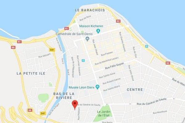 Carte Saint-Denis, rue tourette