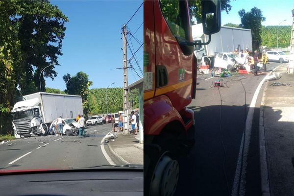 Accident Saint-Sauveur Capesterre