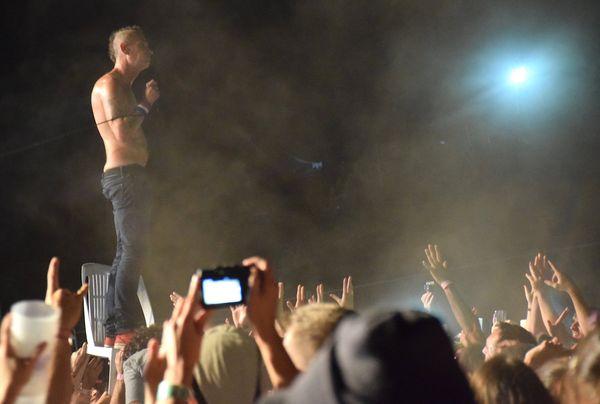 Didier Wampas concert Blackwoodstock (22 septembre 2017)