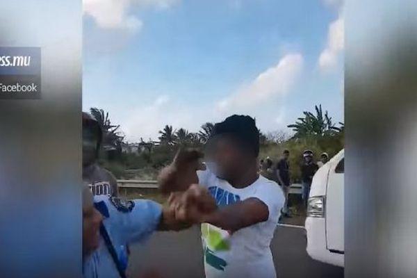 Policier mauricien agressé