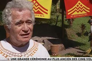 Cérémonie de Haururu pour soutenir Maunakea