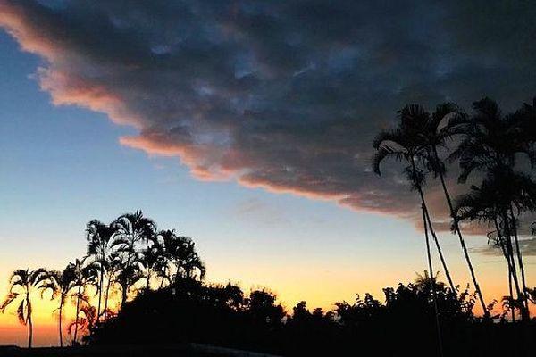 Coucher de soleil sur l'Ouest 18 août 2019