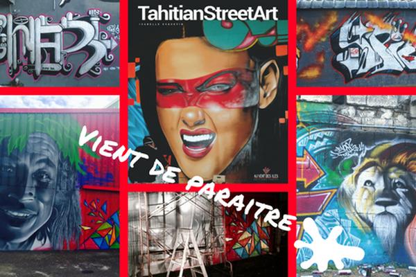 Livre graff tahitian street art