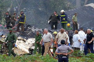 Cuba Accident avion de ligne