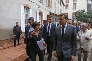 Macron Toulouse
