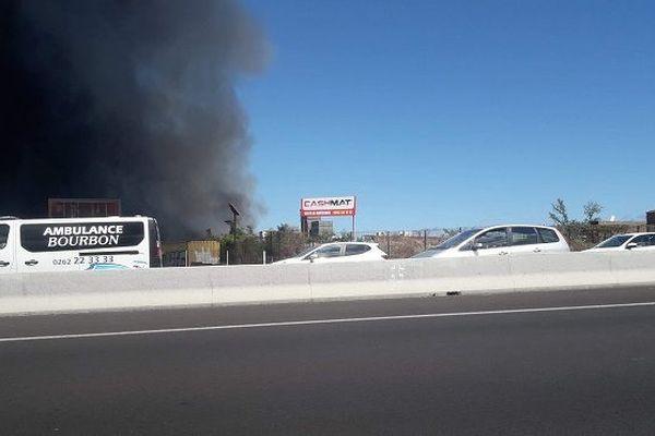 Un incendie s'est déclaré à Cambaie.