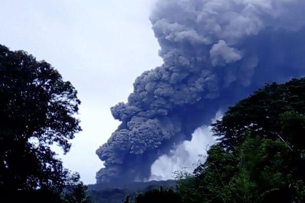 Volcan Ambae : niveau d'alerte 3