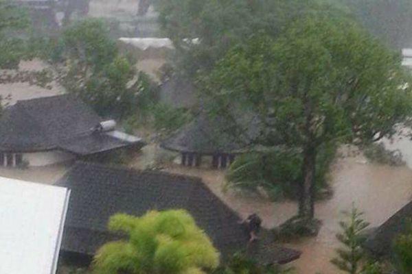 Dépression tropicale forte au Samoa