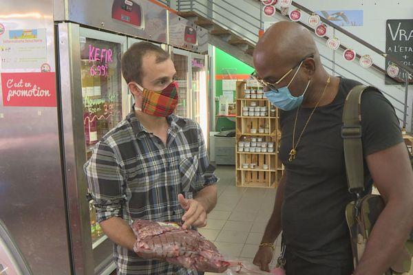 La viande de bufflon vendue une fois par mois