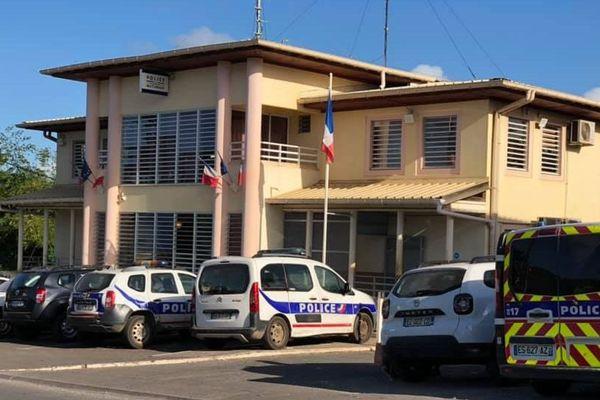 Le commissariat de Mamoudzou à Mayotte.