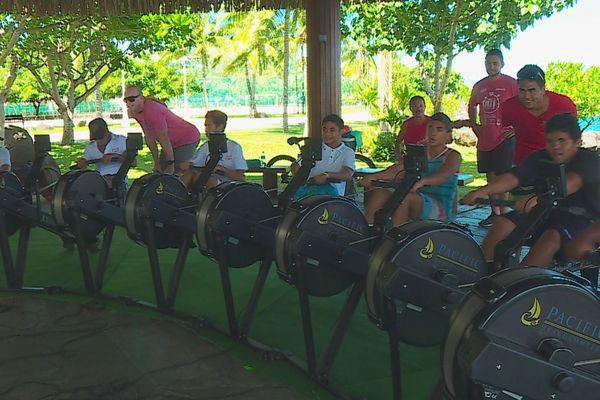 virtual world rowing