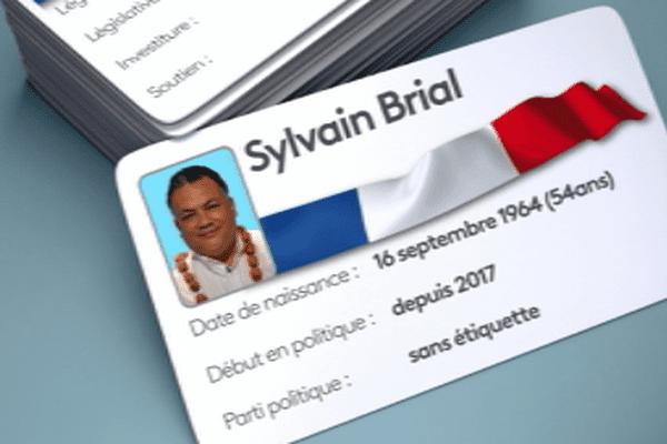 carte d'identité politique de Sylvain Brial