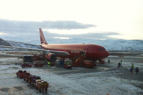 Groenland avion