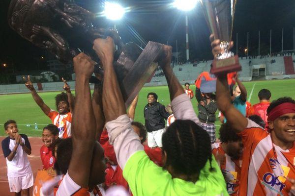 Victoire de l'AS Lossi en finale de la Coupe de Calédonie 2017