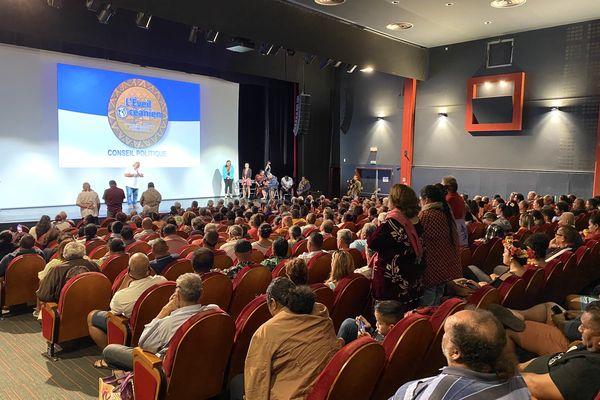 Eveil océanien, troisième conseil politique centre culturel du Mont-Dore, 3 juillet 2021