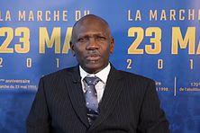 Le Dr. Emmanuel Gordien, président du Comité Marche du 23 mai 98 (CM98)