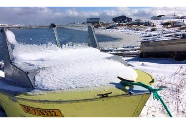 L'archipel de Saint-Pierre et Miquelon sous la neige