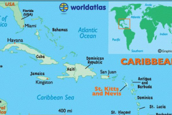 Saint Kitts carte