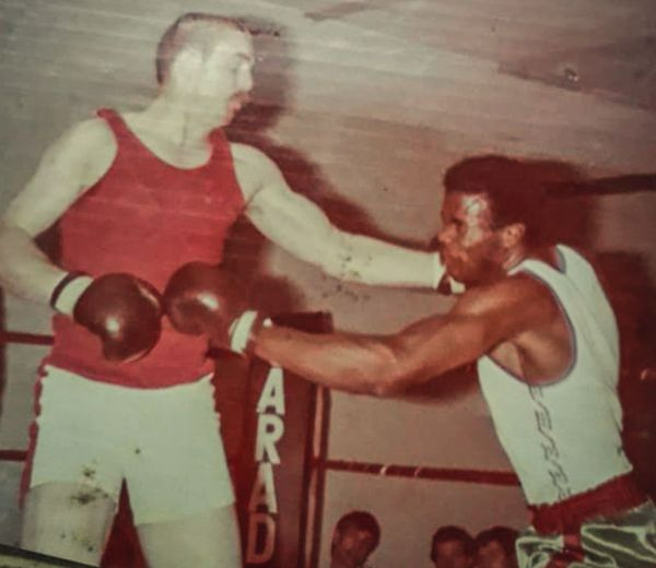 Félix Vert-Pré boxeur