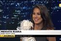Miss Tahiti Mehiata Riaria était l'invitée du journal et du ve'a