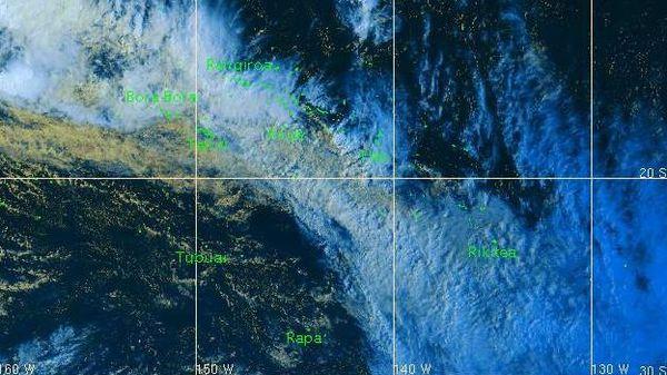 Le mauvais temps persiste à Tahiti jusqu'à jeudi soir