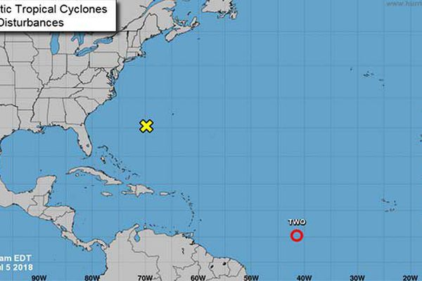 Carte météo 5 juillet 2018