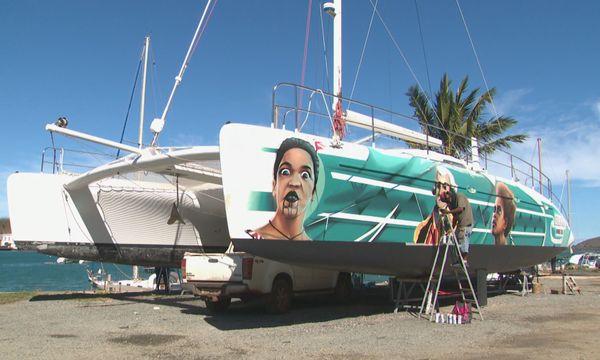 Graffeurs catamaran 2