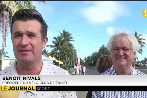 300 cyclotouristes américains à la prochaine ronde tahitienne