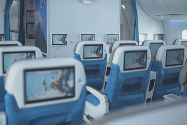 A bord du Dreamliner d'ATN