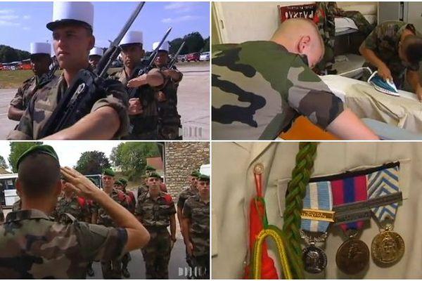 Préparation défilé militaire 14 juillet 3ème REI
