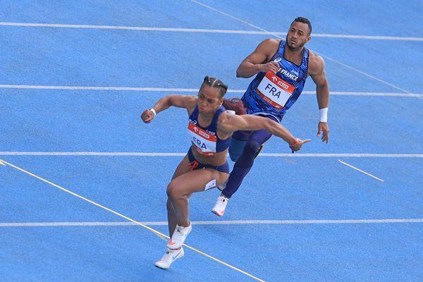 Mandy François-Elie relais en bronze