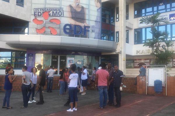 Agents EDF en grève