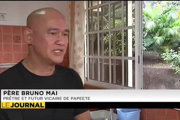 Le père Bruno Mai nommé vicaire de Papeete