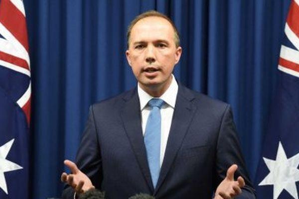 Peter Dutton, le ministre australien de l'Immigration.