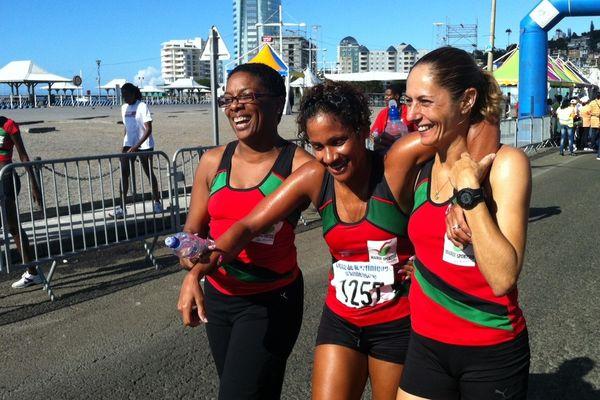 Les femmes de la course