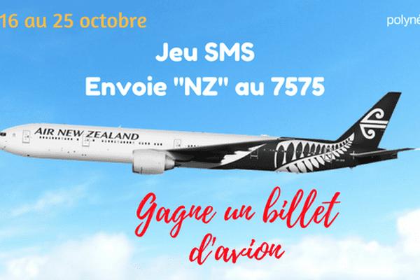 Joue et tente de gagner un billet d'avion pour la Nouvelle-Zélande !