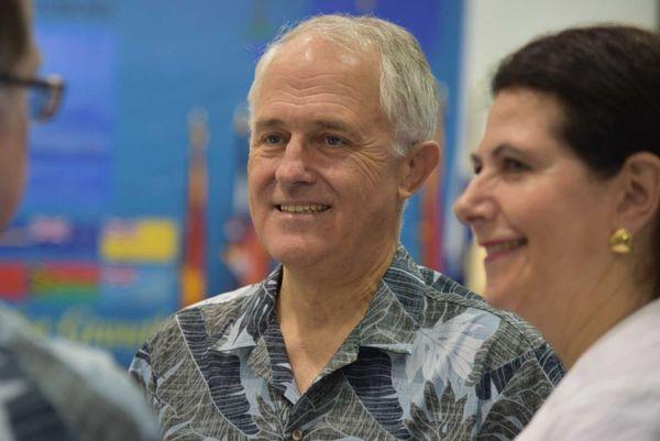 Forum des Iles du Pacifique Malcolm Turnbull