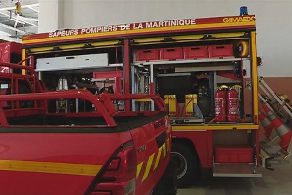 Nouveaux matériels pompiers