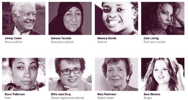 Diffusion TEDWomen en direct de californie