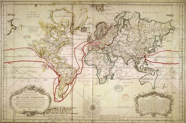 Carte ancienne de Clipperton