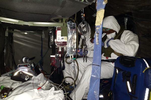Coronavirus : transfert de Guadeloupe au CHUM d'un patient Covid-19