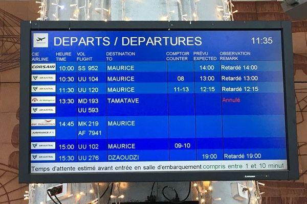 Des vols annulés pour Maurice, ce mardi 31 décembre.