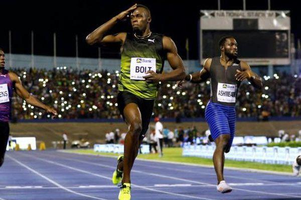 Dernière course Usain Bolt